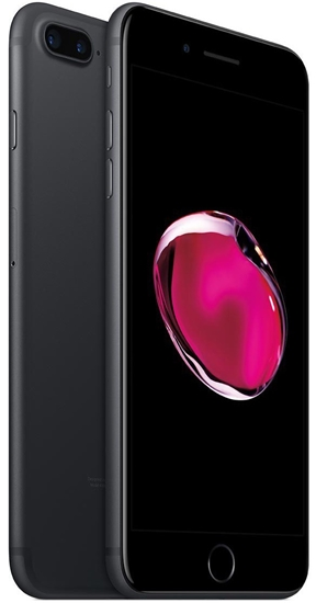Picture of Refurbished Apple iPhone 7 Plus 32GB Unlocked Matte Black - Like New Condition