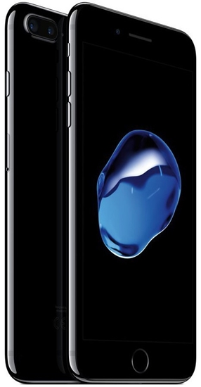 Picture of Refurbished Apple iPhone 7 Plus 128GB Unlocked Jet Black - Like New Condition