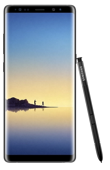 Picture of Samsung Galaxy Note 8 Black