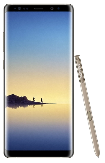 Picture of Samsung Galaxy Note 8 Gold