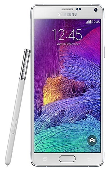 Picture of Samsung Galaxy Note 4 White