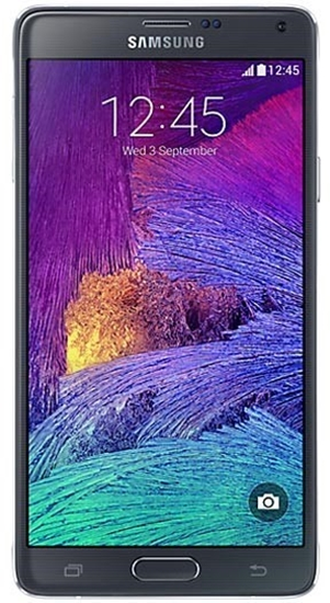 Picture of Samsung Galaxy Note 4 Black