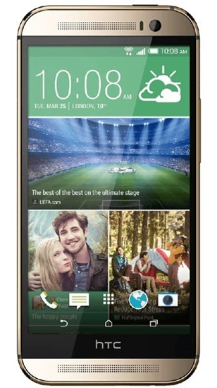 Picture of HTC M8 Gold