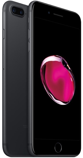 Picture of Refurbished Apple iPhone 7 Plus 128GB Unlocked Matte Black - Good Condition