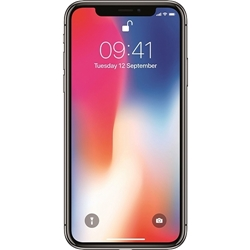 Picture of Apple iPhone X 64GB Silver Unlocked Refurbished Like New