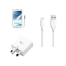 Picture for category Samsung Galaxy Note 2 Charging Cable and Adapter