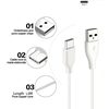 Picture of 100% Genuine Fast Charging Type C USB Charging Data Cable For Samsung Galaxy