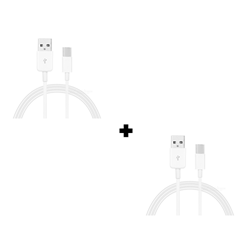 Picture of Pack Of 2 Genuine Samsung Galaxy Fast Charging C-Type USB Cable White