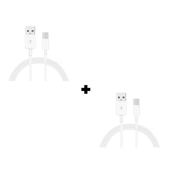 Picture of Pack Of 2 Genuine Samsung Galaxy S8, S8+, S9, S9+, S10 Fast Charging C-Type USB Cable