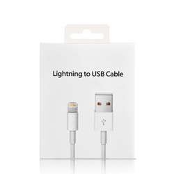 Picture of Apple iPhone Lightning to USB Cable & 5W Power Adapter | White