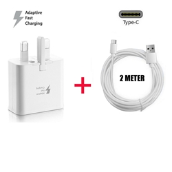 Picture of Genuine Fast Charger Plug 2M USB-C Cable For Samsung Galaxy A20 A50 A51  A71 Lot