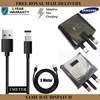 Picture of Genuine Samsung Fast Mains Charger Plug Charging Adapter & 3M Data Sync Cable UK