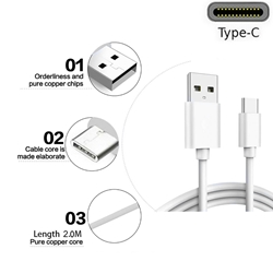 Picture of Genuine Samsung Fast USB Type-C Data Charger Cable For Galaxy A20 A50 A70