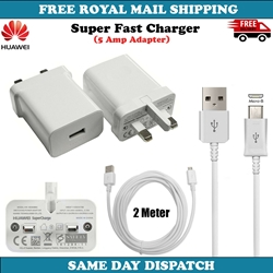 Picture of Genuine Samsung Fast Charger Plug & 3M Long USB Cable For Galaxy S6 S7 Edge+ Lot