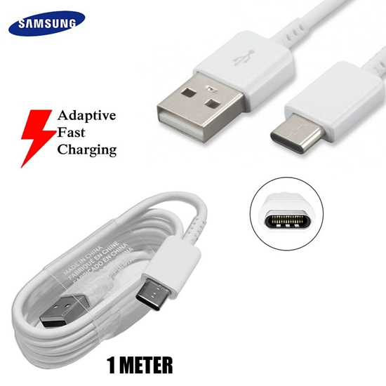 Picture of Genuine Samsung USB Type-C Fast Data Transfer Charger Cable For Galaxy Phone Tab
