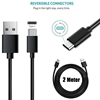 Picture of Genuine Samsung Fast Charger Plug &2M Long USB-C Cable For Galaxy Note 9 8 7 Lot