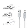 Picture of Genuine Samsung Fast Charger Plug & 2M USB Cable For Galaxy J J5 J7  Prime Lot