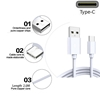 Picture of Genuine Samsung Fast Charger Plug & 3M USB-C Cable For Galaxy Tab S6 Lite Tab S6
