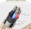 Picture of Micro USB Cable Gold Color for Samsung and other Phones