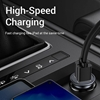 Picture of Dual Port 12V Car Cigarette Lighter Socket Dual USB Charger Splitter Power Adapter