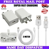 Picture of Genuine Super Fast Charger Plug & 3M Extra Long USB Cable For Huawei Phones Lot