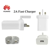 Picture of Genuine Huawei 2A Fast Mains Charger Plug & Type-C USB Cable For Honor 8 9 10 V20