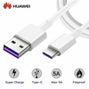 Picture of Genuine Huawei 40W 5A Super Fast Charger Cable Data Lead For P40 P30 P20 P10 P9
