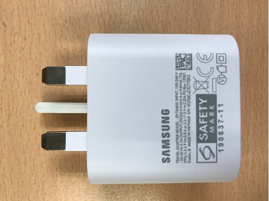 Picture of Samsung C Type Output Fast Charging Adapter