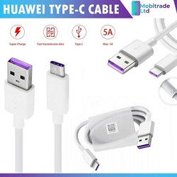 Picture of For Huawei P20 P30 Pro Lite Mate Genuine 5A Type-C Fast Charging Charger Cable