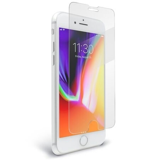 Picture of For Apple iPhone 7 - 100% Genuine transparent  back case & screen protector.