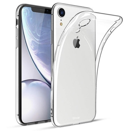 Picture of Transparent Case +Tempered Glass Screen Protector For Apple iPhone 8 7 6 6S Plus