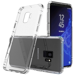 Picture of Silicone Back  Case & glass  protector For Samsung Galaxy  S8 S9 PLUS.