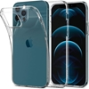 Picture of For Apple iPhone 12 Mini/Pro/Max Case Slim Transparent Cover - & Glass Screen Protector
