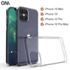 Picture of iPhone X Xs Max Xr 8 7 Plus Transparent back  Case and Glass Screen Protector