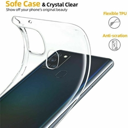 Picture of Full Transparent Mobile Phone Case For Samsung Galaxy A51
