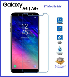 Picture of Full Tempered Glass Screen Protector For Samsung Galaxy A6 Plus