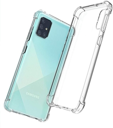 Picture of Transparent Mobile Phone Case Cover & Protector For Samsung Galaxy A71