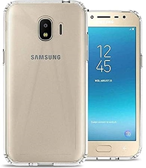 Picture of Full Transparent Mobile Phone Case Cover For Samsung Galaxy J6 Plus