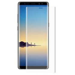 Picture of Full Transparent Mobile Phone Case Cover & Screen Protector For Samsung Galaxy Note 8