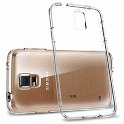 Picture of Full Transparent Mobile Phone Case For Samsung Galaxy S5