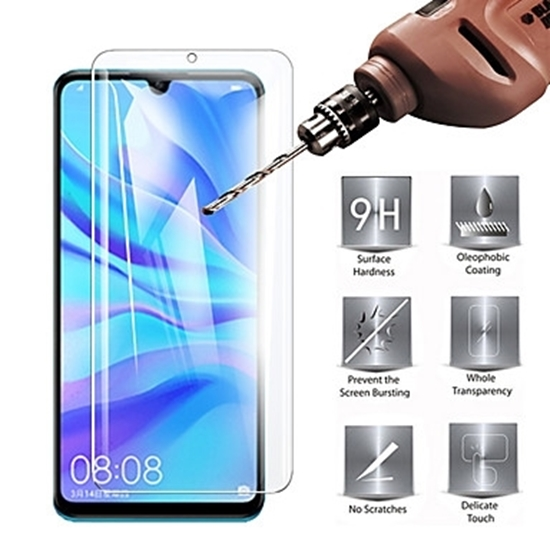 Picture of Genuine Transparent Mobile Phone Screen Protector For Huawei P 20