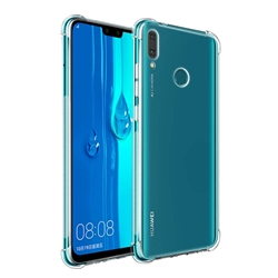 Picture of FOR HUAWEI P SMART 2021 Silicon Cover Case and glass protector