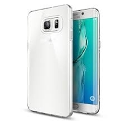 Picture of Full Transparent Mobile Phone Case Cover & Screen Protector For Samsung Galaxy S6 Edge