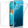 Picture of For Huawei  Y6S  V20  GLASS SCREEN PROTECTOR & Back Case.