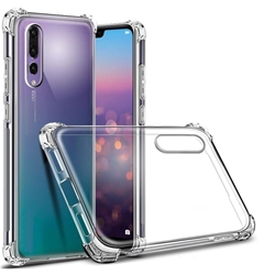 Picture of Transparent back case & glass protector for Huawei Honor 8A 8C.