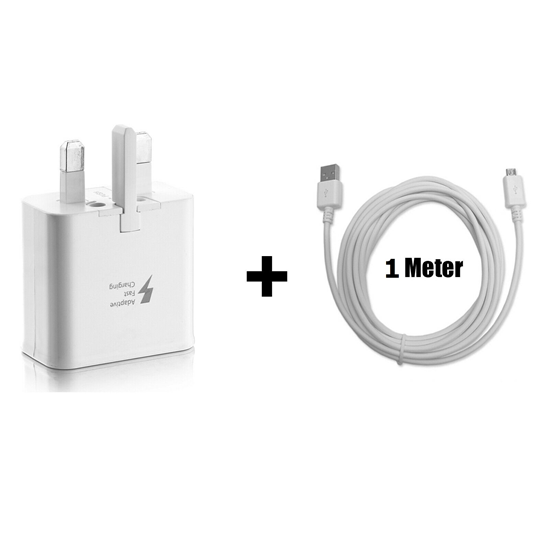 Picture of Genuine Samsung Plug &  Micro USB Data Cable |1Meter
