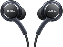 Picture of AKG Samsung Galaxy S8 / S8+ Wired Headphones   Black