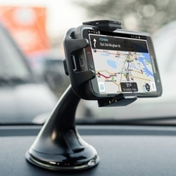 Picture of VD Universal Silicone Suction Windscreen Mobile Holder | Black
