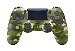 Picture of DualShock 4 Wireless Controller for PlayStation 4   Green Camouflage