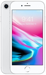 Picture of Apple iPhone 8 plus 64GB Silver Unlocked Refurbished Very Good